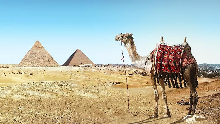 Dovolená v Egyptě - pyramidy
